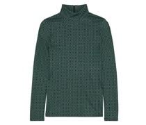 Kasen Jacquard-knit Turtleneck Top
