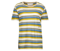 Vania distressed striped linen T-shirt