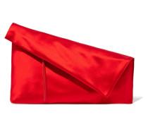 Satin Clutch Rot