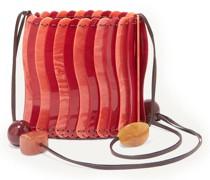 Yarida Beaded Acrylic Shoulder Bag