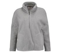 Fleece Jacket Grau
