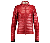 Hybridge Lite Quilted Shell Down Jacket Signalrot