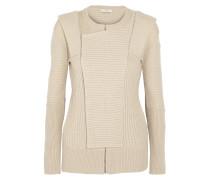 Stella Chunky-knit Wool Cardigan Beige