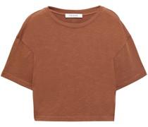 Boxy Slit T-shirt aus Bio-pima-baumwoll-jersey
