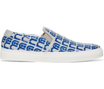 Skater Mothercare embossed leather slip-on sneakers
