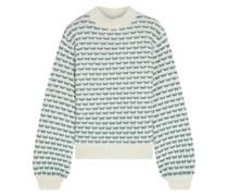 Clara Pullover aus Jacquard-strick aus Einer Wollmischung