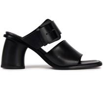 Sandalen aus Leder mit Schnalle