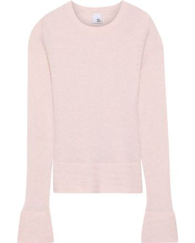 Sigrid Cotton And Cashmere-blend Sweater Pastel Pink