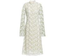 Cotton Guipure Lace Midi Dress