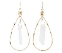 -plated Crystal Earrings