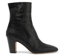 Onasis sliced suede ankle boots