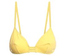 Close Up Lumi Braid-trimmed Triangle Bikini Top