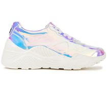 Claudine Iridescent Pvc Sneakers