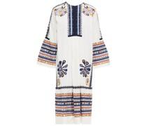 Malika Kleid aus Baumwolle mit Stickereien