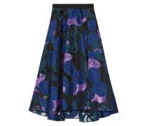 Fil Coupé Skirt Blau