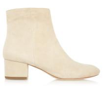 Gabbie Suede Boots Elfenbein