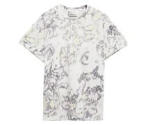 Bedrucktes T-shirt aus Baumwoll-jersey