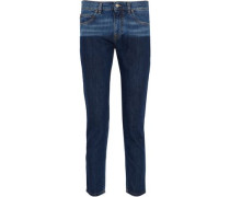 Billy two-toned low-rise skinny jeans