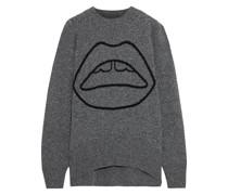 Erin Lara Oversized-pullover aus Wolle mit Intarsienmuster