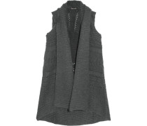 Knitted Vest Schiefer