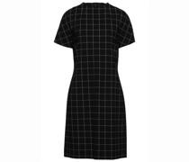 Kariertes Kleid aus Webstoff