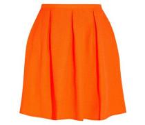 Ethan neon embossed piqué mini skirt