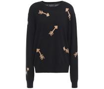 Intarsia Merino Wool Sweater