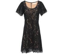 Cotton-blend Corded Lace Mini Dress