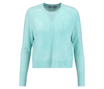Cropped Cashmere Sweater Mint
