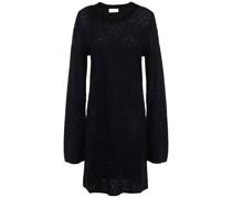 Pullover aus Jacquard-strick mit Kristallverzierung