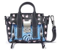 Pashli Nano Floral-print Leather Shoulder Bag Black Size --