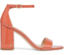Daniella Patent-leather Sandals