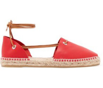 Paulina leather espadrilles