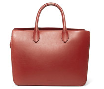 Leather Tote Ziegelrot