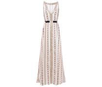 Spirit Metallic Jacquard Maxi Dress