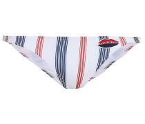 Striped Low-rise Bikini Briefs