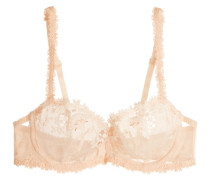 Wish Guipure Lace Underwired Bra Puder