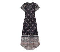 Reese Floral-print Fil Coupé Silk-blend Chiffon Midi Dress