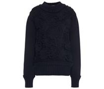 Macramé Cotton-sweater