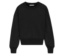 Maire Metallic Knitted Sweater