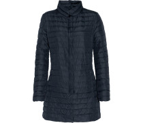 Elare Quilted Shell Down Coat Mitternachtsblau