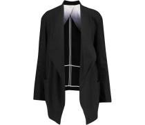Linen-blend Jacket Schwarz