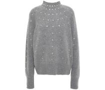Fever Crystal-embellished Wool-blend Sweater