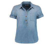 The Popover Denim Shirt Mittelblauer Denim