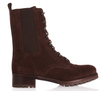 Broome Suede Ankle Boots Burgunder