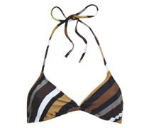 Triangel-bikini-oberteil mit Floralem Print