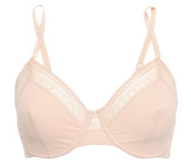 Paroles Hip Hip Hip Stretch-cloque And Leavers Lace Underwired Bra