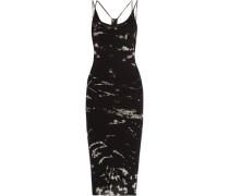 Layered printed Pima cotton dress