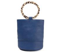 Bonsai Pebbled-leather Bucket Bag