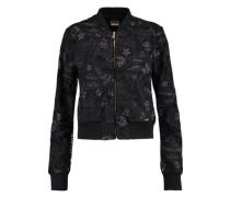 Embroidered chiffon jacket
